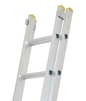 Trade Double Extension Ladders 14 Rung 7 03m