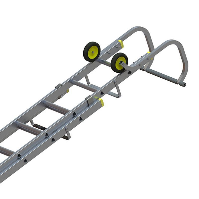 Youngman 576636 2 Section Roofing Ladders 377m